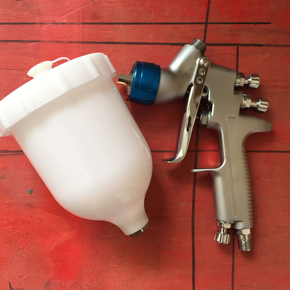 SAT0080 new arrival pistolet peinture pistola de pintura high quality air spray gun pneumatic spray paint airbrush car paint gun sat0080 car spraying compressor pistolet peinture automobile airbrush compressor paint spray gun gravity feed spray paint gun