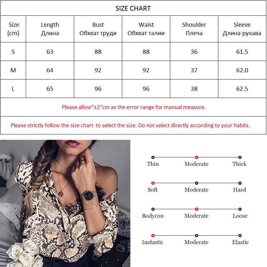 OOTN Snake Silk Shirt Long Sleeve Womens Tops And Blouses Office Summer Satin Blouse Ladies Vintage Animal Print 2019 Fashion