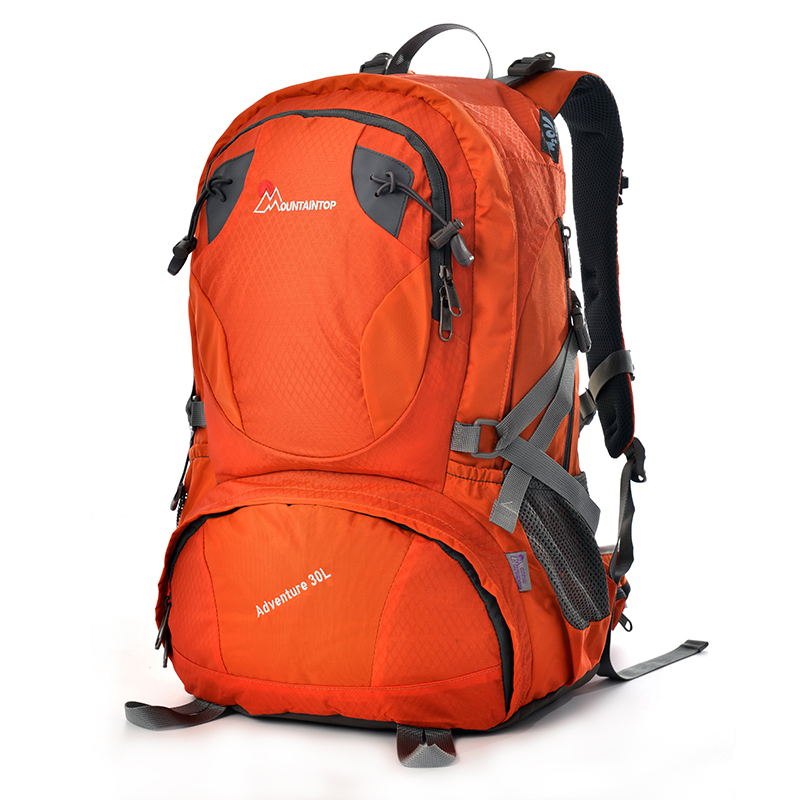 ФОТО 30l Internal Frame Lightweight Camping Climbing Bags Terylene Material Unisex Travel Hiking Outdoor Sport Excursion Backpack