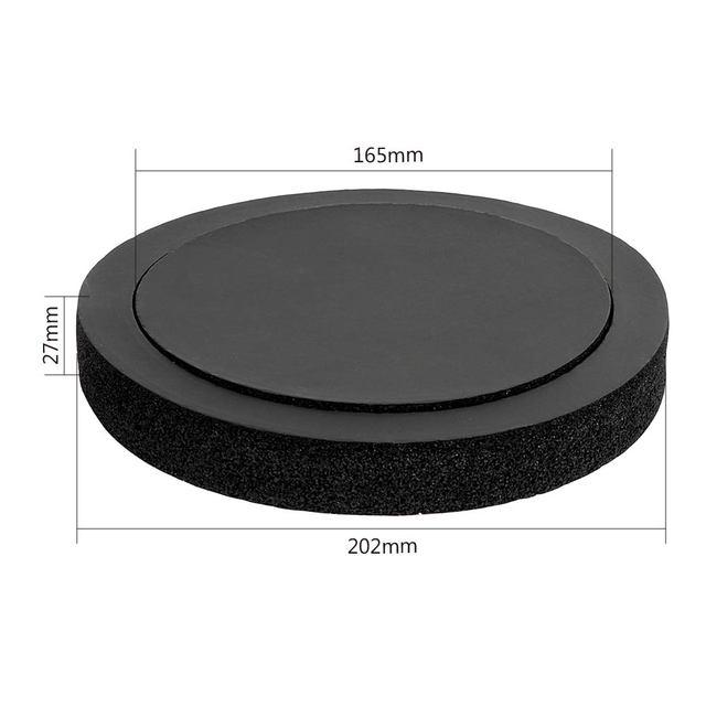 Car Speaker Ring Bass Door Trim PS Material Interior Accessories Sound Insulation Cotton Self Adhesive Acoustic Foam