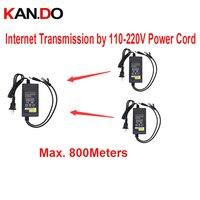 12V2A zasilacz DC 500 mbps internet transmisji przez 110-220 V przewód 800 m PLC DC 12 V moc do kamery cctv nadajnik sieci