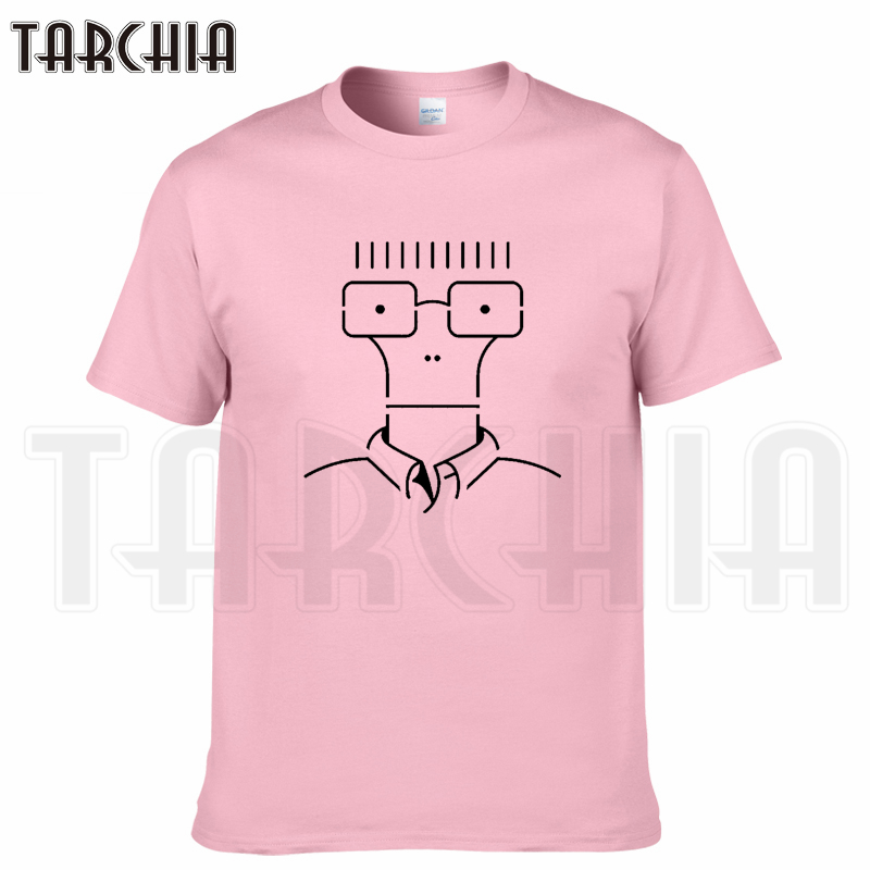 TARCHIA 2018 summer brand line anime funny  t-shirt cotton tops tees men short sleeve boy casual homme tshirt t shirt plus