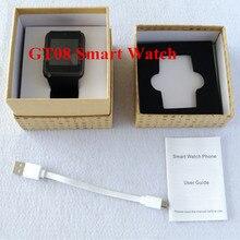 Smart Watch GT08 Uhr Sync Notifier Unterstützung Sim-karte Bluetooth-konnektivität Smartwatch Uhren für Samsung Android-Handy