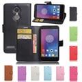 Lenovo k6 case 5.0 polegada de luxo pu couro capa case para lenovo k6 case virar saco do telefone de proteção