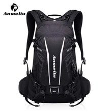 ANMEILU 20L Motorcycle Mountain Bike Backpack Waterproof Sports Bicycle Bag Riding Hiking Climbing Bag Rucksack With Rain Cover цена