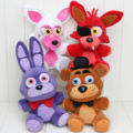 Hot Selling Five Nights at Freddy's 4 FNAF Horror Game Plush Dolls Kids Plushie Toys 7''