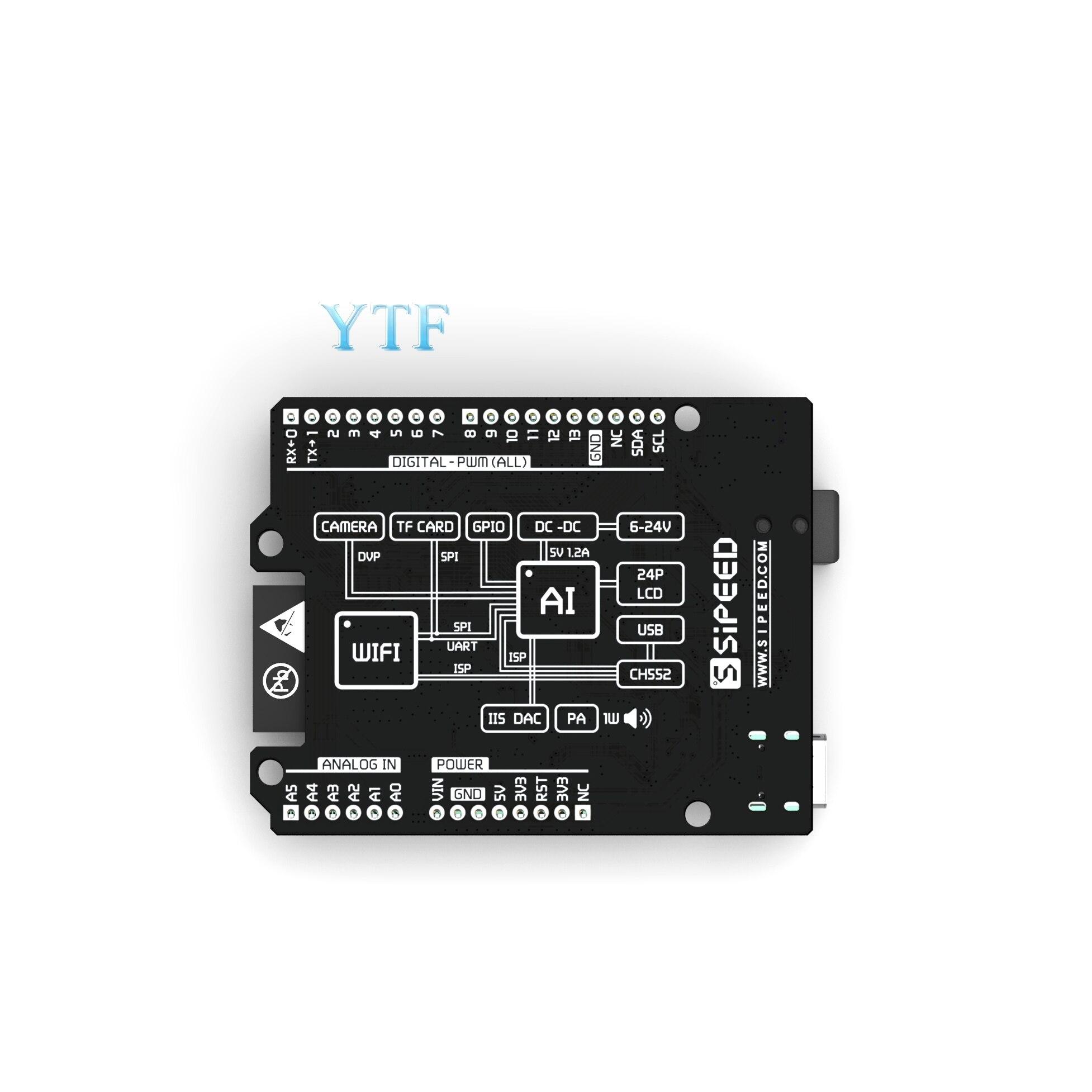 cheapest Sipeed Maixduino AI Development Board K210 RISC-V AI lOT ESP32 Compatible With Arduino