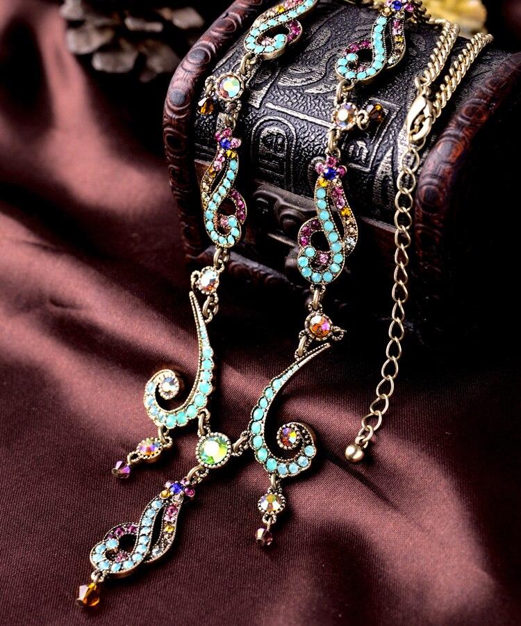 Summer Jewelry Statement Choker Fashion Bohemia Charms ...