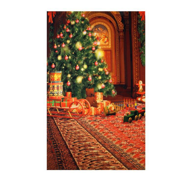 Xmas Photography Backdrop Photo Props Vinyl Studio Background Christmas 3x5ft