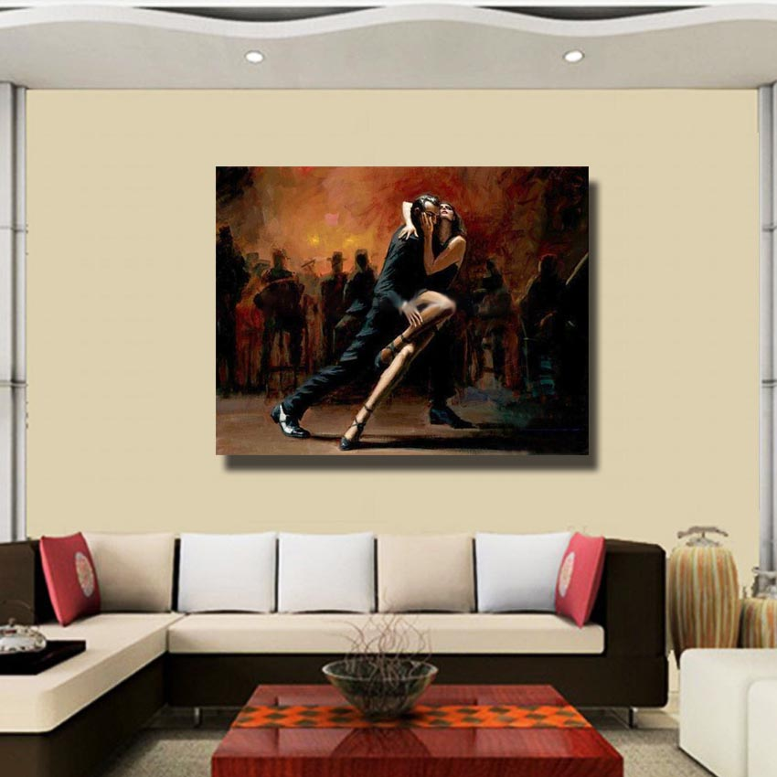 Online Buy Wholesale latin dance paintings from China