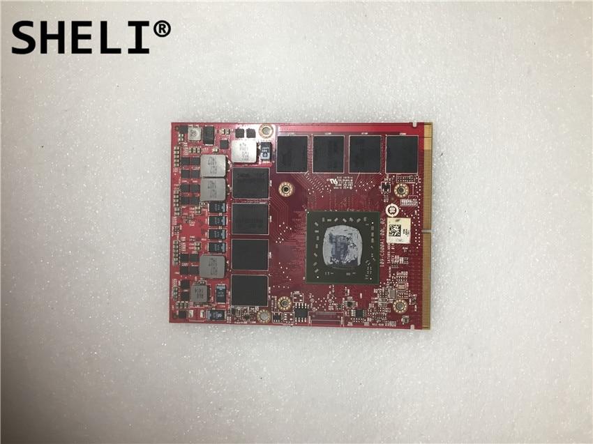 SHELI FOR Dell M6100 Video Card 0MG0X9  2GB SHELI FOR Dell M6100 Video Card 0MG0X9  2GB