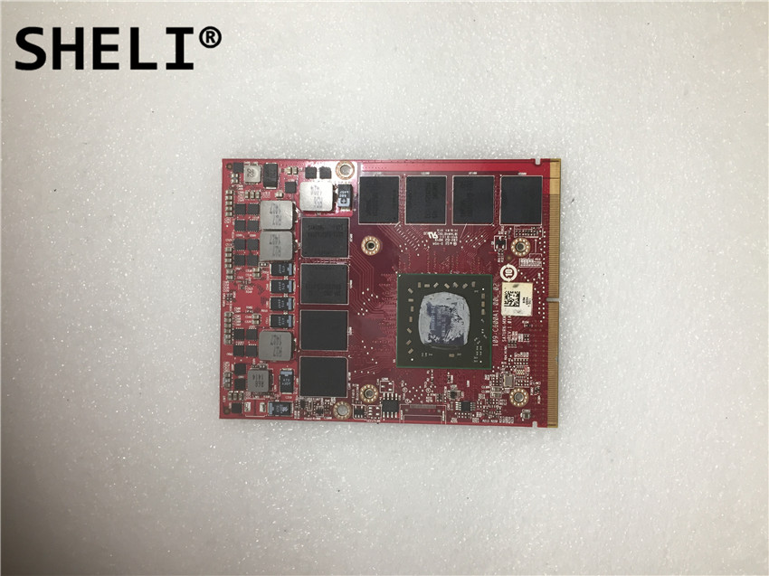 SHELI FOR Dell M6100 Video Card 0MG0X9  2GBSHELI FOR Dell M6100 Video Card 0MG0X9  2GB