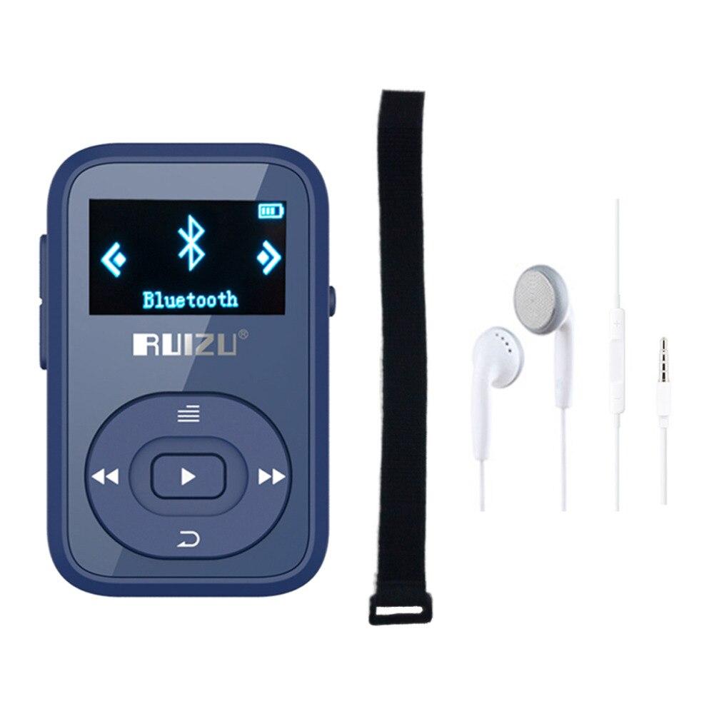 Original RUIZU X26 Mini Clip Reproductor de MP3 Bluetooth de 8 gb con - Audio y video portátil - foto 6