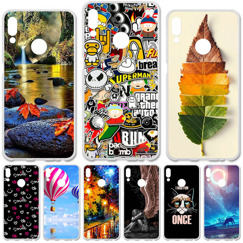 TAOYUNXI Soft TPU Case For Lenovo K5 Pro Cases Silicone Cover For Lenovo K5 Pro Flexible DIY Painted Protective Covers