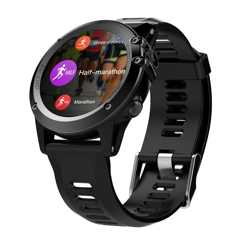 Hot H1 Android Smart Watch Phone Waterproof 1.39 inch MTK6572 iPhone Support 3G Wifi GPS SIM Wearable Devices SmartWatches
