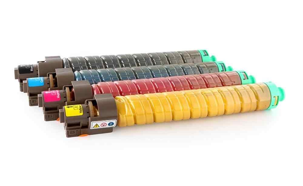 Nuevo cartucho de tóner de color de copiadora C840 compatible con ricoh SPC840DN SPC841DN kit de tóner de impresora láser KCMY 4 unid/set