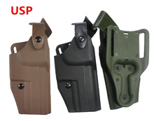 Tactical Military HK USP Compact Gun Holster Airsoft Softair Pistol Right Handed  Hunting Accessories