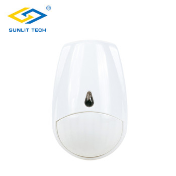 MC-335R Wireless PIR Sensor Pet Friendly Infrared Passive Detector 433MHz /868MHz Motion Sensor Alarm System  For Home Security wireless infrared alarm detector common passive ir pir motion sensor wide angel w external antenna 433mhz for alarm system
