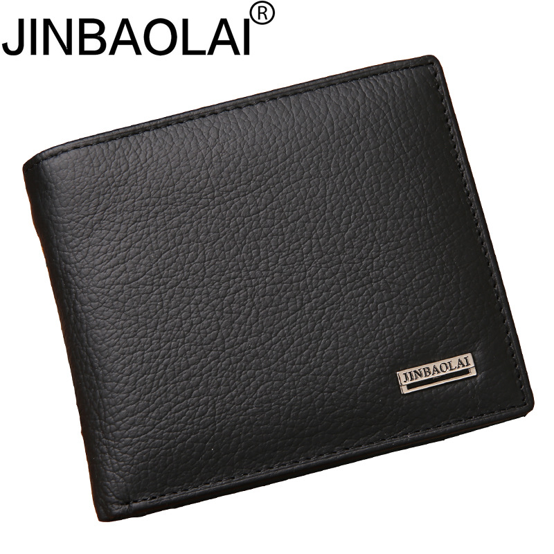 Real Short Genuine Leather Fashion Men Wallet Male Purse Coin Small Money Bag Perse Walet Cuzdan Vallet For Card Holder Pocket