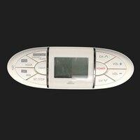 Used Original For Sharp GA624WJSA LCD TV Magnetic With Clock Timer Alarm Remote Control LC45GD7U LC65D90U