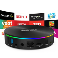 H96 T95Q Smart TV Box S905X2 Quad-core 64bit Davlin MP2 GPU 4G/64G Android  8 1 2 4G/5 0GHz Wifi Set Top Box Family TV Bluetooth