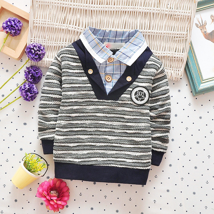 High-Quality-Kids-Boys-Polo-Shirt-Baby-Boy-Clothes-Spring-Long-Sleeve-Cotton-Striped-Detachable-Collar-Tshirt-Toddler-6-24month-5