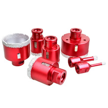 цена на Wet Dry Diamond Core Drill Bit Hole Saw for Granite Concrete Stone