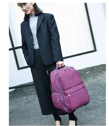 Men trolley Backpacks Oxford Travel Luggage Backpack wheels wheeled Rolling Bag Baggage women Travel trolley luggage suitcase universal uheels trolley travel suitcase double shoulder backpack bag with rolling multilayer school bag commercial luggage