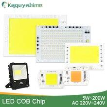 Kaguyahime 5 Вт~ 100 Вт AC 220 В интегрированная COB Светодиодная лампа чип 50 Вт 30 Вт 20 Вт 10 Вт смарт IC драйвер люменов для DIY прожектор