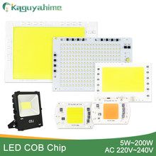 Kaguyahime 5W~100W AC 220V Integrated COB LED Lamp Chip 50W 30W 20W 10W Smart IC Driver High Lumens For DIY Floodlight Spotlight(China)