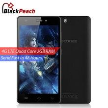 Smartphone Doogee X5 Pro 4G LTE 5 pulgadas HD 1280x720 IPS Quad Core Mtk6735 Android 5.1 teléfono celular de 2 GB de RAM 16 GB de ROM CAM de 8MP