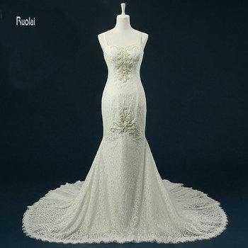 New arrival 2017 sexy sweetheart pearls beading mermaid sweep train zipper back formal wedding dresses custom.jpg 350x350