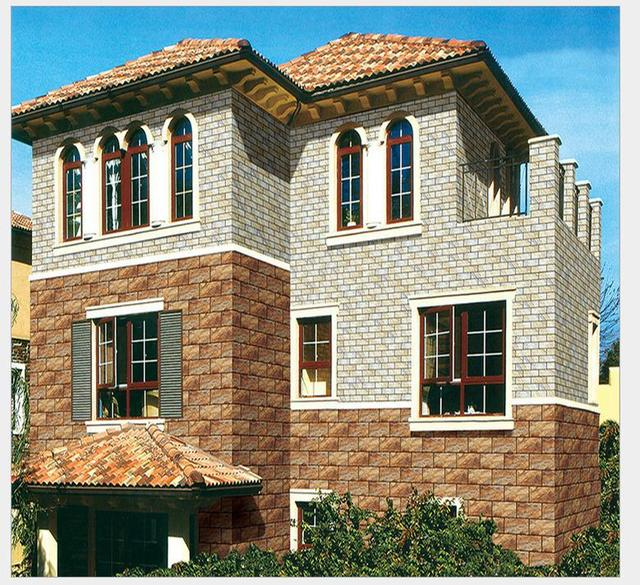 Exterior Wall Tiles 200 4009 D Inkjet Outdoor Insulating Brick Waterproof Ceramic Tile