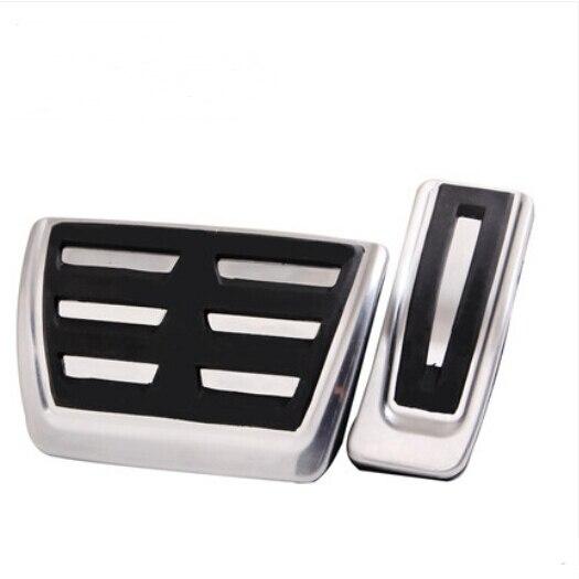 2pcs/set DSG Sport Fuel Brake Footrest Pedal AT For Audi A4 A4L A6L A7 S7 A8 S4 RS4,A5 S5 RS5 8T,Q5 SQ5 8R/FOR Porsche Macan RHD