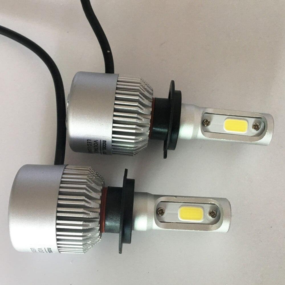 2 հատ հատ Led H7 Սուպեր պայծառ - Ավտոմեքենայի լույսեր - Լուսանկար 6