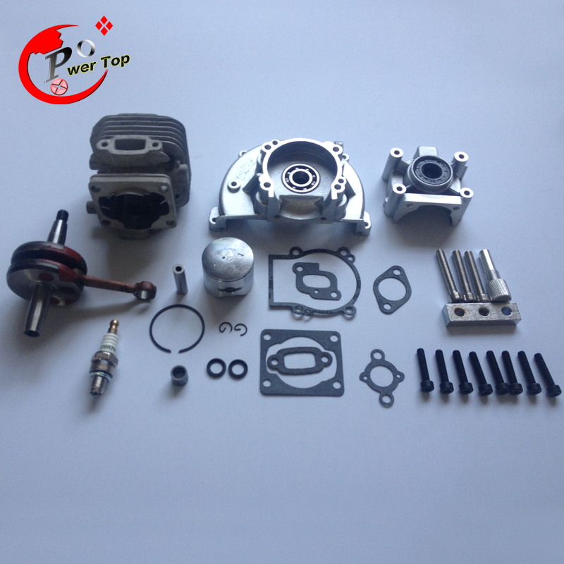 rovan engine 30.5CC BIG BORE UPGRADE KIT  2 change 4 BOLT for hpi baja 5b parts baja parts 2 change 4 bolt engine 30 5cc big bore upgrade kit for 1 5 hpi baja 5b 5t km