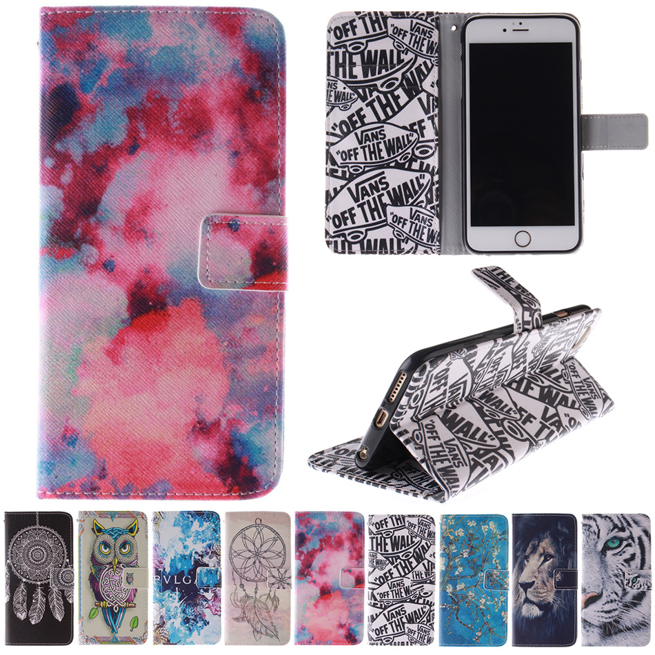 Dreamcatcher Sexy Girl Lion Tiger Flip Wallet PU Leather Phone Case Cover for Sony Xperia Z2 Z3 Compact Mini Z4 M2 M4 E4 T3 E1