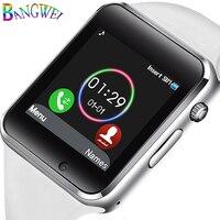 BANGWEI Women Smart Watch Men Bluetooth Digital Electronic Watch Sport Pedometer Music Player Smartwatch For Android Reloj+Box