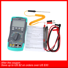 Holdpeak hp 890cn Digital Multimeter Hintergrundbeleuchtung AC/DC Amperemeter Voltmeter Ohm Tragbare Meter widerstand frequenz duty zyklus test