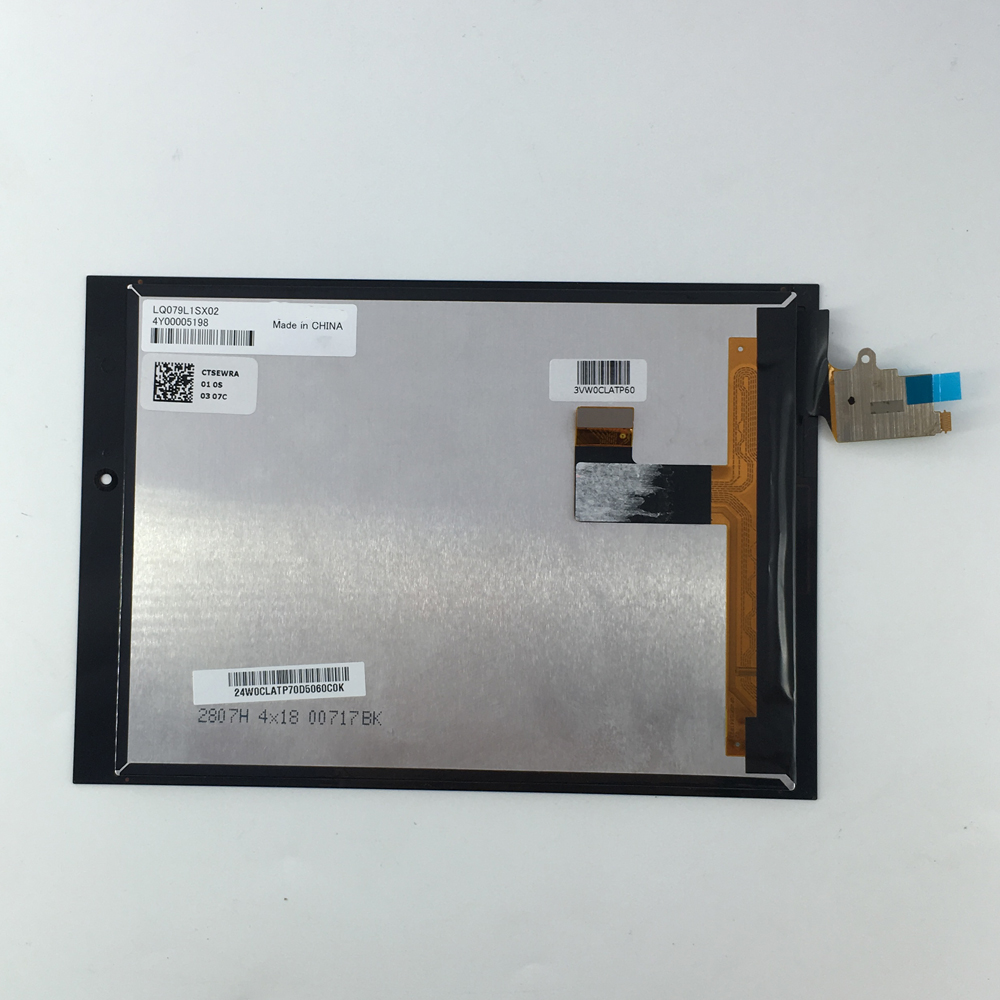 7 inch capacitive touch screen 1536*2048 LCD Display Digitizer Glass Assembly for 7.9