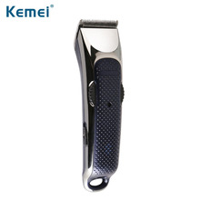 0.8-2.0 kemei hair trimmer rechargeable electric clipper professional electric razor barber hair cutting beard shaving machine