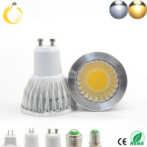 Image 4 - COB led spotlight 9W 12W 15W led lights E27 E14 GU10 GU5.3 220V MR16 12V Cob led bulb Warm White Cold White lampada led lamp