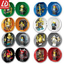 Ninjago Blocks Jay Nya Cole Lloyd Zane Pythor Master Building Block Toys Compatible With legoINGly Mini Figures Kids Gifts(China)