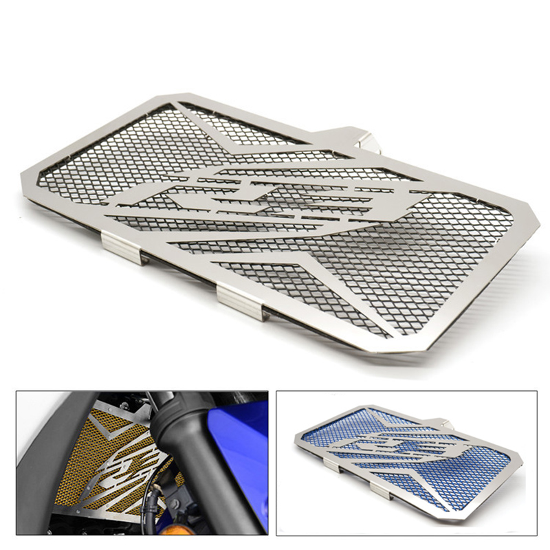Motorcycle accessories Radiator Grille Grill Cover Protector Guard Case For YAMAHA R3 2015-2016 Stainless arashi motorcycle parts radiator grille protective cover grill guard protector for 2003 2004 2005 2006 honda cbr600rr cbr 600 rr