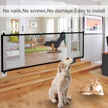 Photo : Suggestion de présentation - Panneau anti-franchissement pour chien
