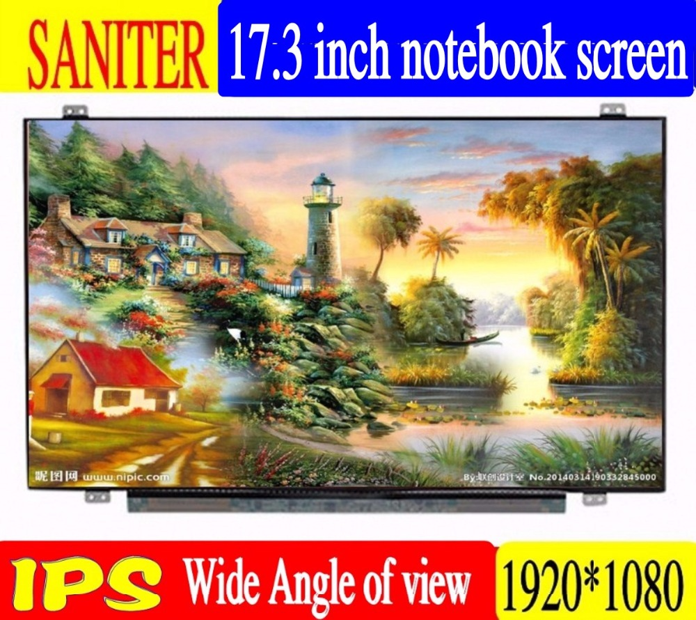 SANITER appliquer à Msi GT72 2 qd IPS NV173FHM-N41 B173HAN01.0 17.3 pouces écran LCD