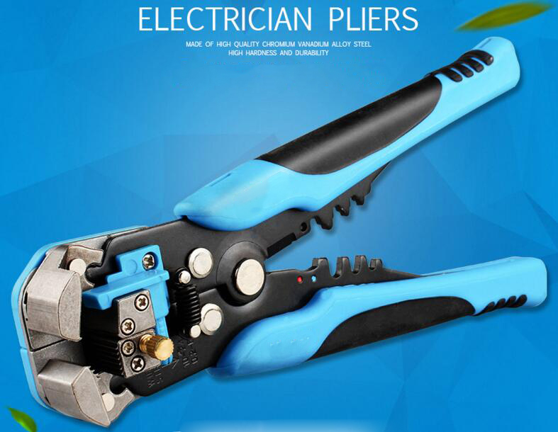 Electrician Pliers Automatic stripping plier Line clamp Multi-function Stripper Peel forceps with peeler 3d пазл expetro голова снежного барана blue 10634