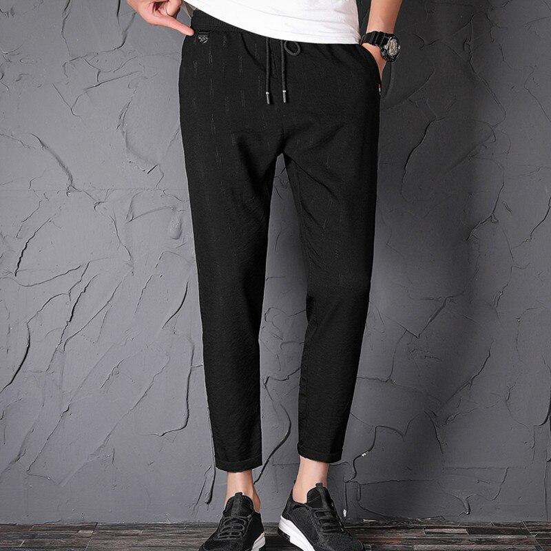 Contemplative El Barco 2018 New Cotton Men Sweatpants Autumn Black Male Pencil Pants Casual Joggers Soft Breathable Long Trousers Pockets