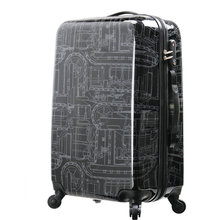 Mechanical Pattern Luggage Men and Women Travel Suitcase  Universal Wheels Trolley Luggage Bag 20″ 24″ 28″ Rolling Luggage