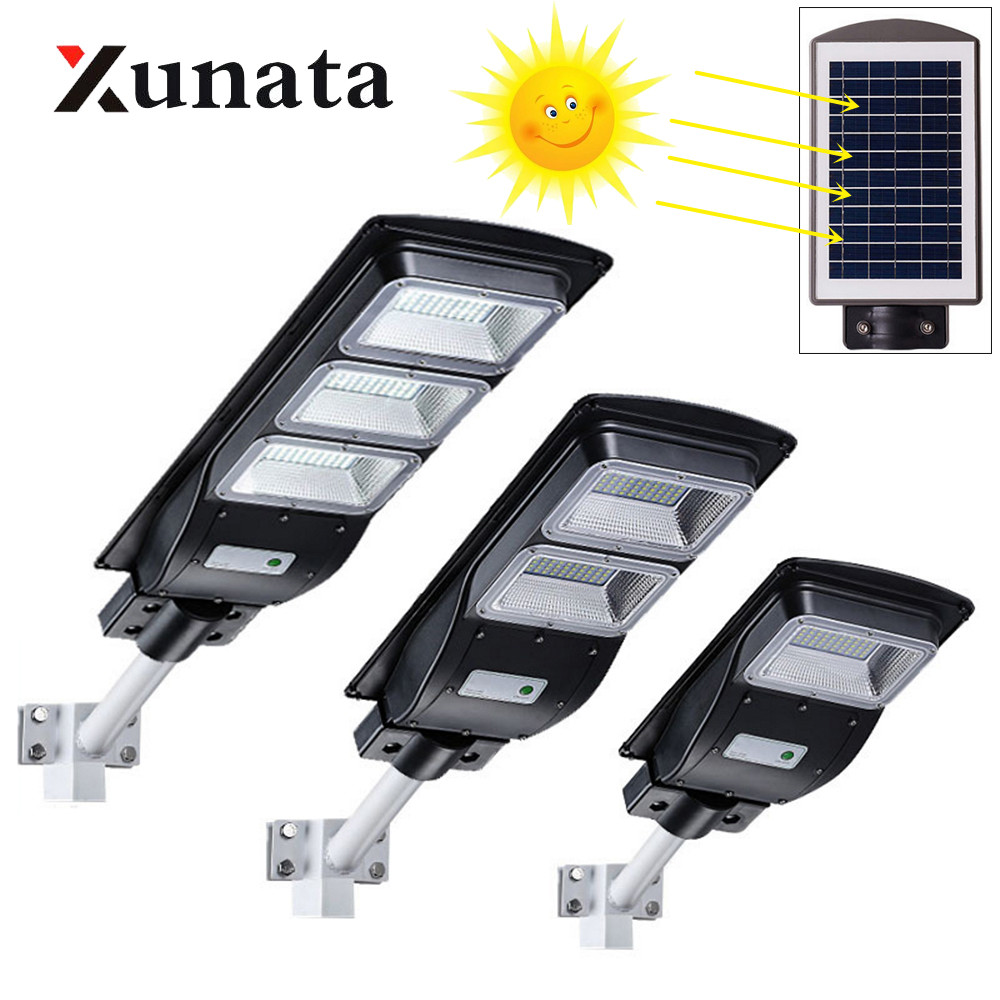 20W/40/60W LED Wall Lamp IP65 Waterproof Outdoor Solar Street Light Radar Motion For Garden Yard Street Flood Lamp